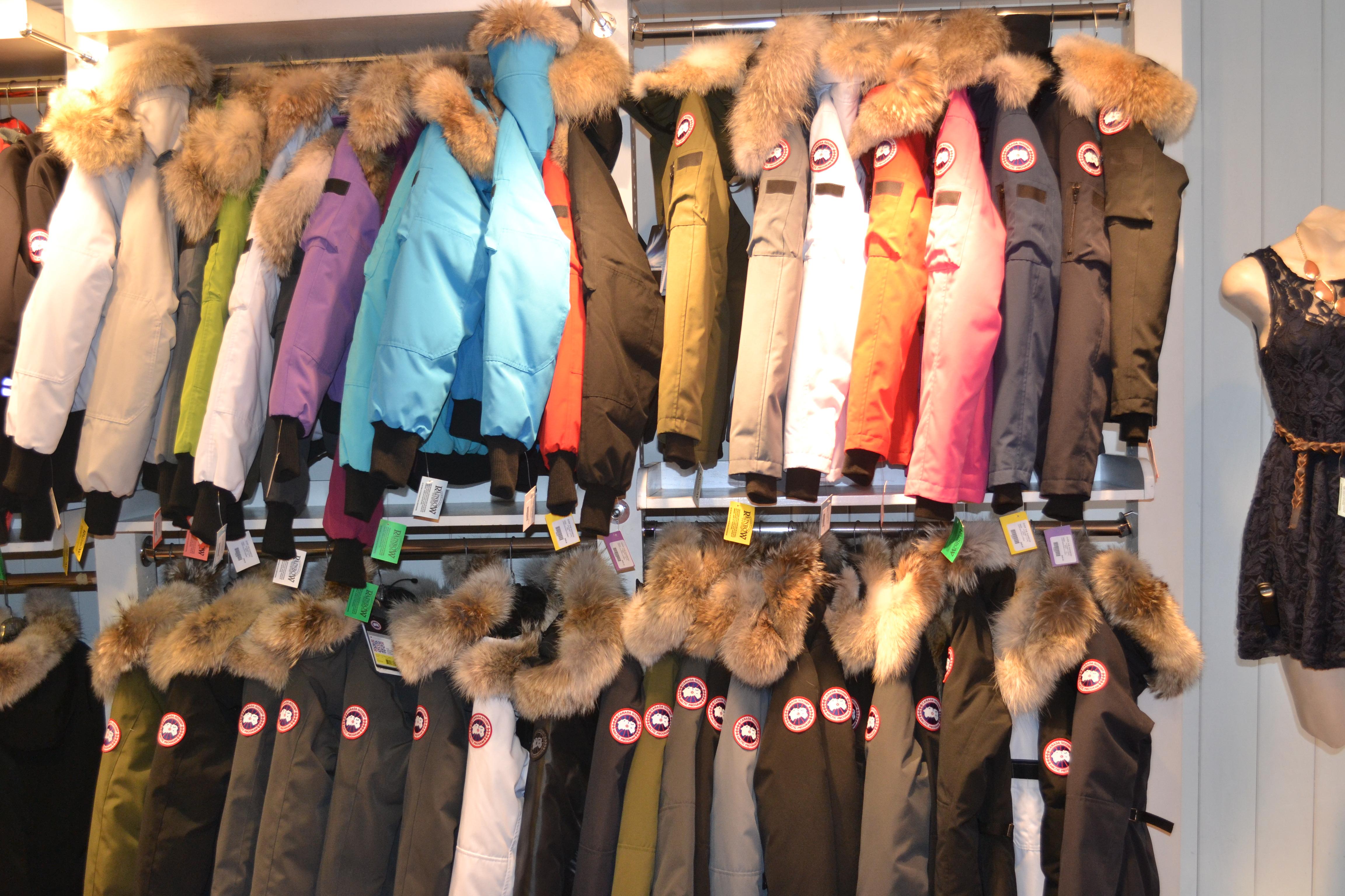 canada goose stores us