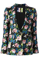 MSGM Floral Blazer KirnaZabete $761