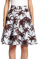 yigal-azrouel-hawaiian-jacquard-skirt