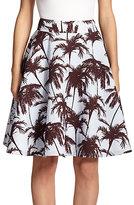 yigal-azrouel-hawaiian-jacquard-skirt