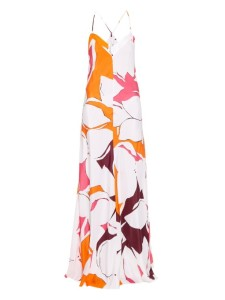 DVF Barth's Silk Maxi Dress