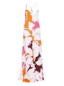 DVF Barth's Silk Maxi Dress