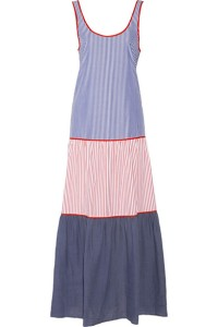 Lisa Marie Fernandez cotton-poplin tiered dress