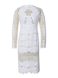 Jonathan Simkhai brocade burnout dress