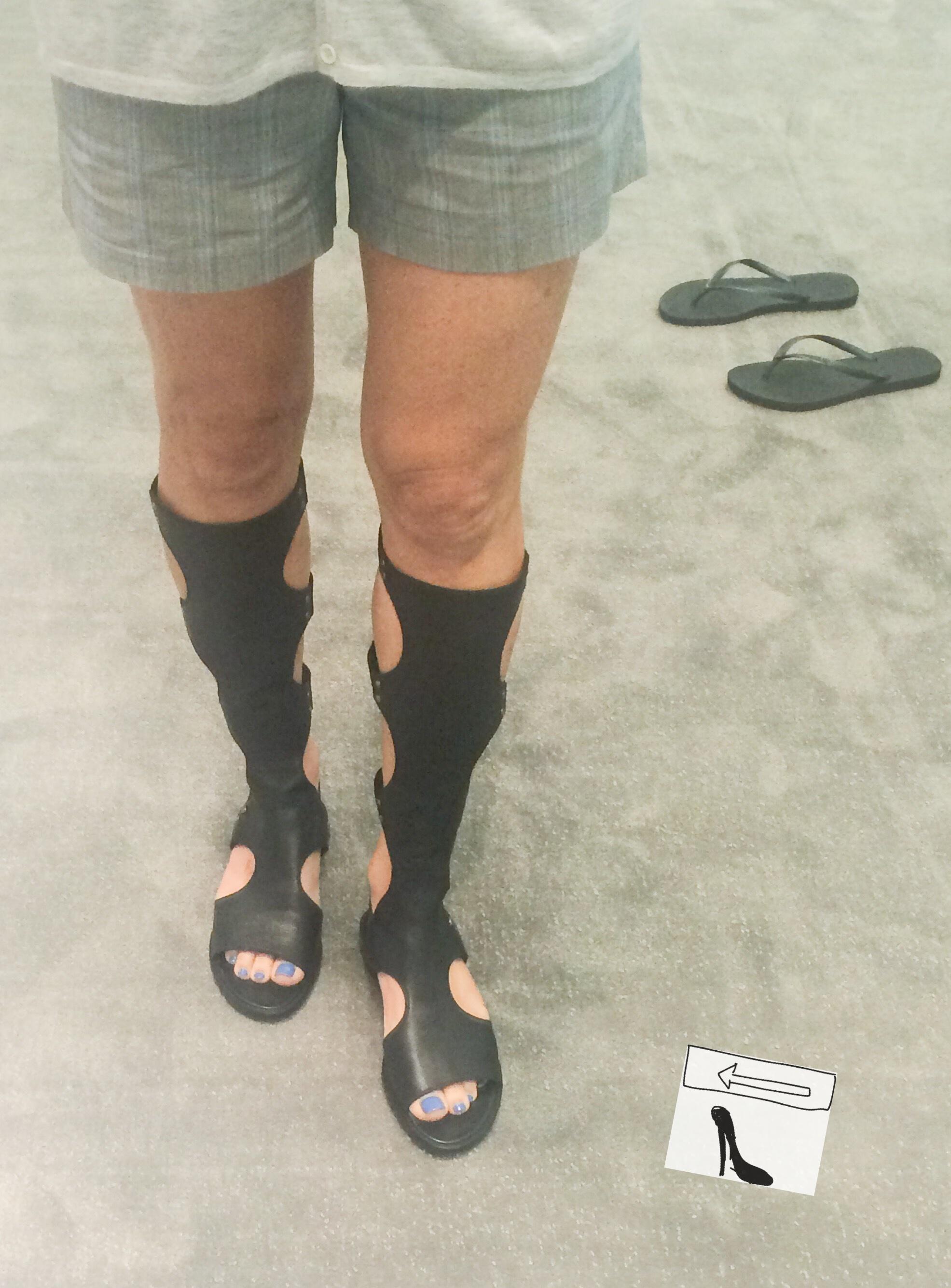 Stuart Weitzman Backview Gladiator Sandals discount pick a best rVm23