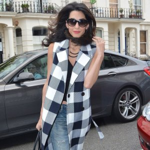 Amal-Clooney-Checked-Vest-Outfit